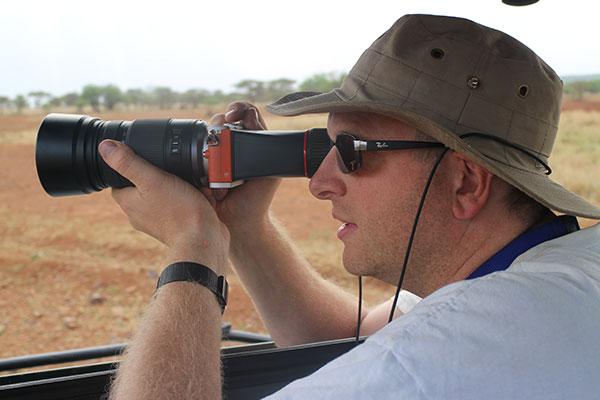 Meg i Serengeti sommern 2014 med lite og lett kamerautstyr.