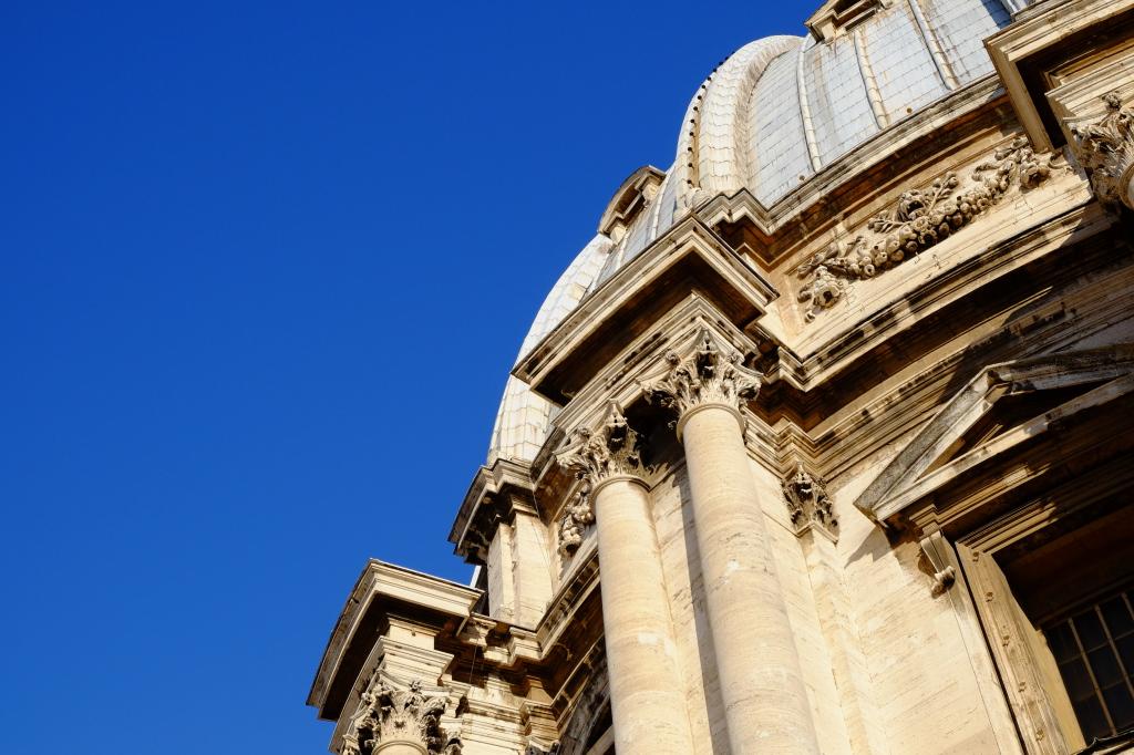 Detalj fra kuppelen på Peterskirken